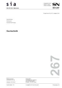 Sia shop produkt 39 sia 267 2013 d geotechnik for Ingenieur geotechnik